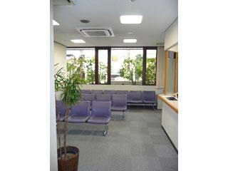 新庄内科クリニックの待合室