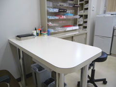 新庄内科クリニックの処置室